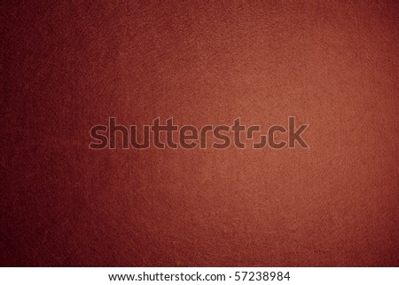 Orange felt background - stock photo