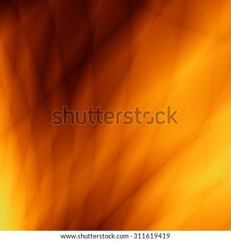 Orange flow web wallpaper card graphic design - stock photo