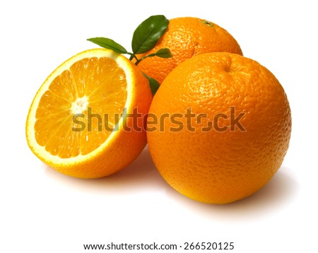 Orange fruit - stock photo