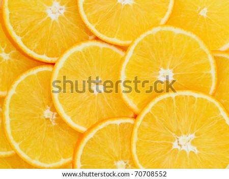 Orange fruit background - stock photo