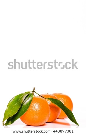 Orange fruit. Fresh isolated on white citrus organic food. Juicy, ripe, sweet vegetarian slice. Yellow color. Half of tasty, healthy, tropical dessert. Natural diet, refreshing. Closeup background. - stock photo