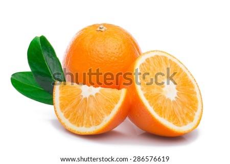 Orange, Fruit, Freshness. - stock photo
