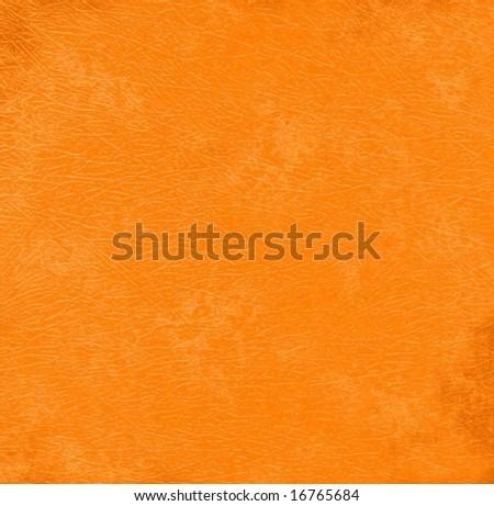 Orange grunge background paper - stock photo