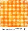 Orange grunge texture background - stock photo