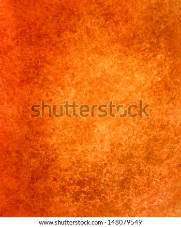 orange halloween background, elegant autumn color, vintage grunge background texture, distressed old orange paper, abstract background design for poster or brochure, orange web background template