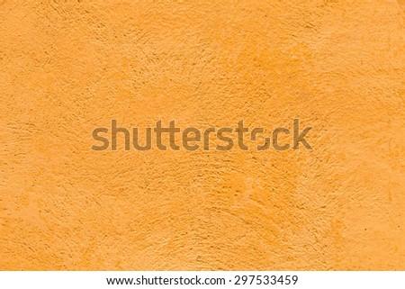 orange harmonic Vintage texture on the wall, closed up - stock photo