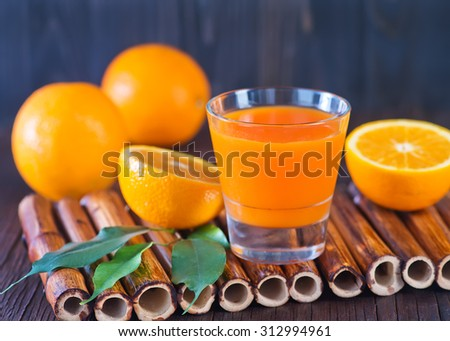 orange juice - stock photo