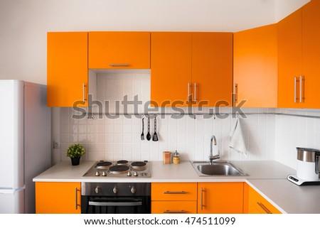 modern kitchen interior stock photo 577108345 - shutterstock