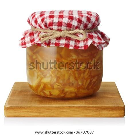 Orange marmalade - stock photo