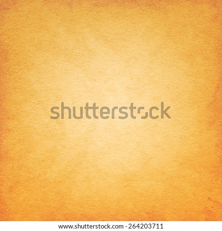 Orange Paper Texture. Background - stock photo
