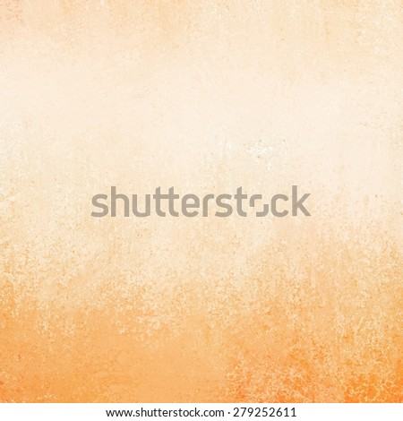orange peach background paper texture and grunge border - stock photo