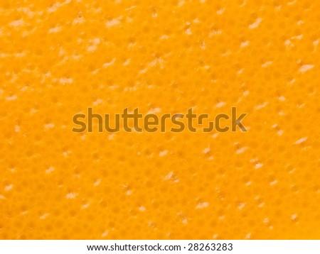 orange peel texture. focus is on all areas. - stock photo