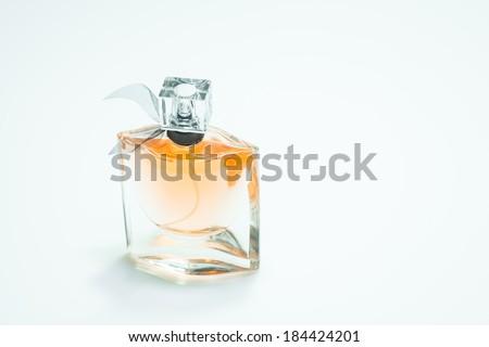 Orange perfume isolate  - stock photo