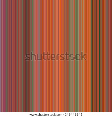 Orange, Red, Green Color Strips, Abstract Background with Pixels of small width - stock photo
