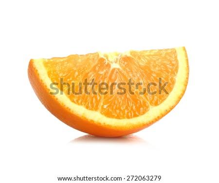 orange slice - stock photo