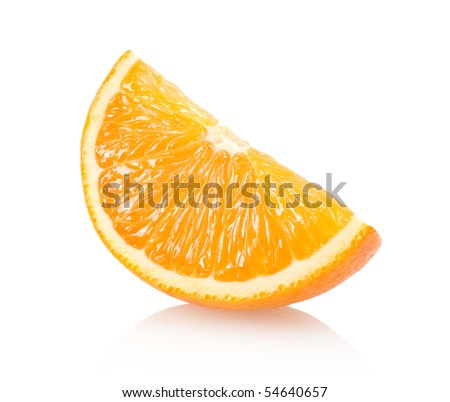orange slice - stock photo