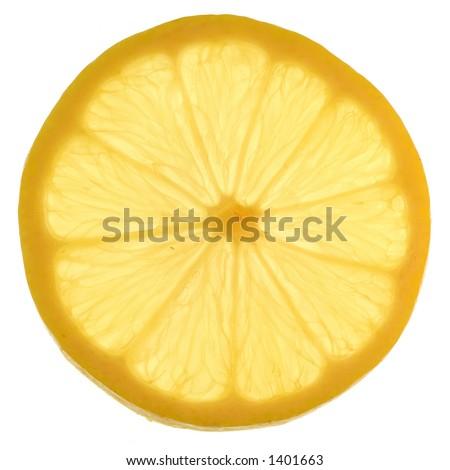 Orange Slice. Closeup. - stock photo
