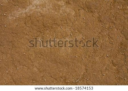 Orange soil texture background - stock photo