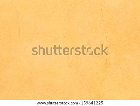 Orange stucco background - stock photo