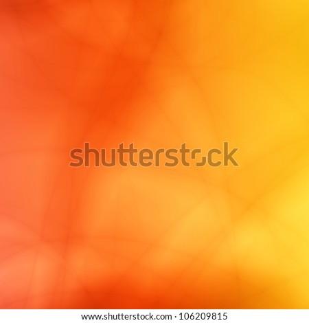 Orange summer abstract background - stock photo