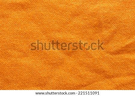 Orange Textile Background/ Orange Textile Background - stock photo