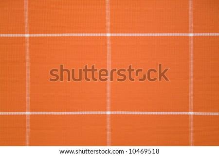 Orange Textile Pattern - stock photo