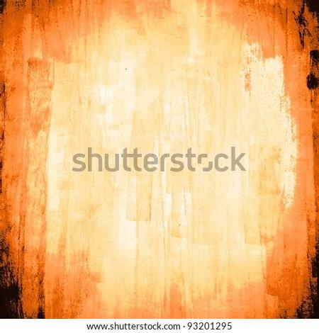 orange texture grunge background - stock photo