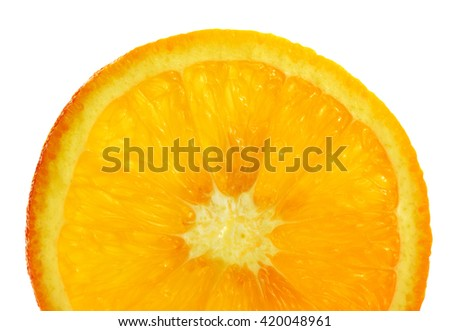 Orange/Texture Orange striped background image/isolated on white
