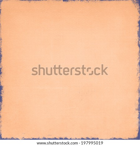 orange textured background with aged corners - stock photo