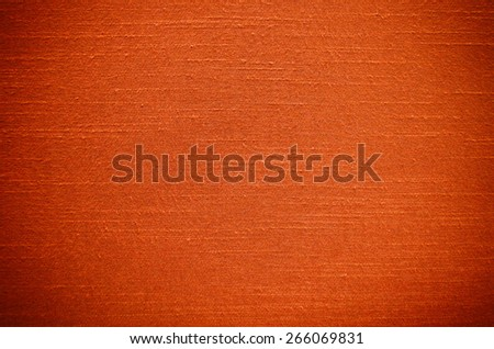 Orange Thai silk texture use as background - stock photo