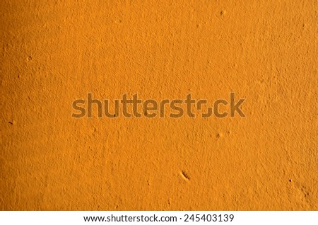 orange wall texture - stock photo