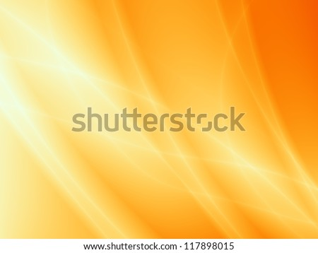 Orange xmas background abstract design - stock photo