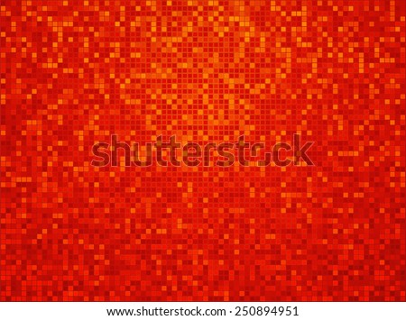 orange yellow red checkered background with a light vignette