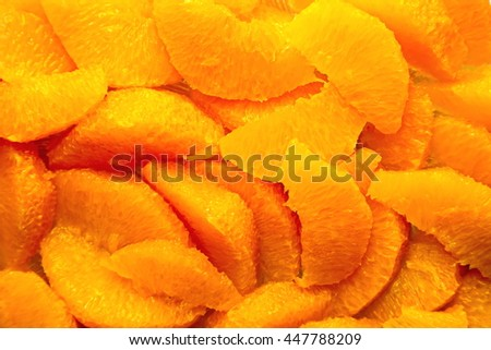 Orangenfilet - stock photo