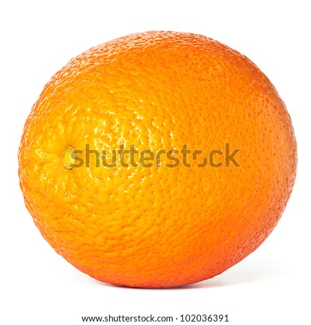 Oranges, as with most citrus fruits, are a great source of vitamin C. Full Depth of Field. - stock photo
