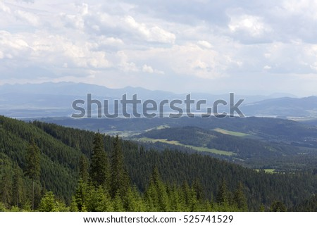 Oravas Beskydy, the beautiful Mountains  in Slovakia