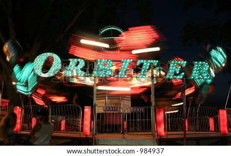 orbiter - stock photo