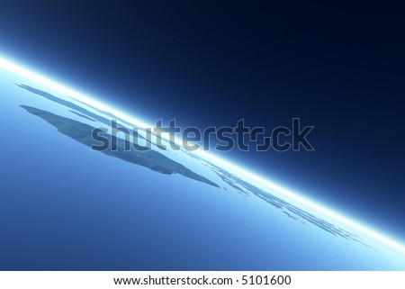 Orbiting (3D Render)