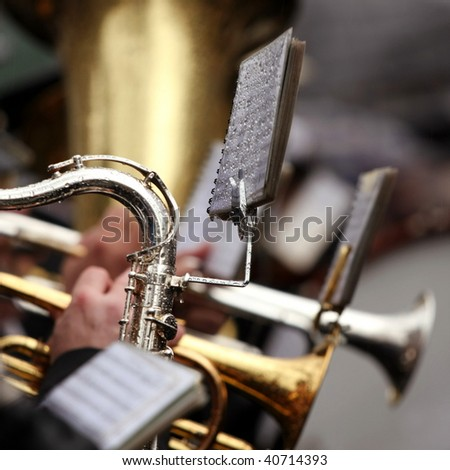 Orchestra - stock photo