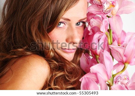 orchid woman flower