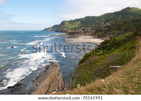 Oregon Coast landscape