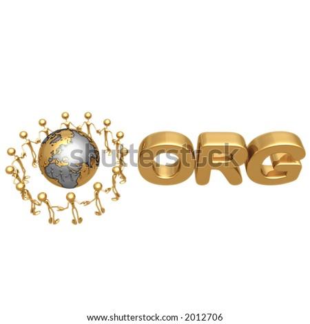 ORG - stock photo