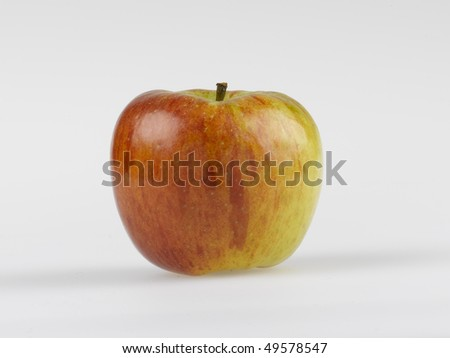 Organic Apple - stock photo