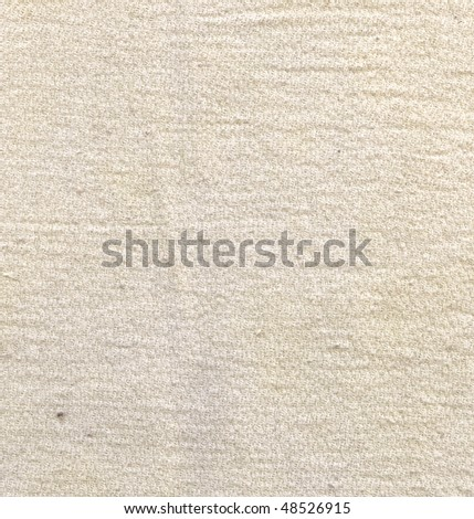 Organic Cotton Texture - stock photo