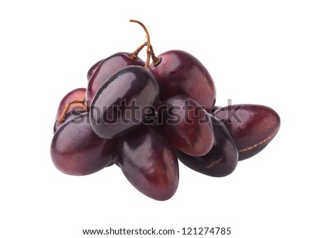 organic grapes on the background. - stock photo