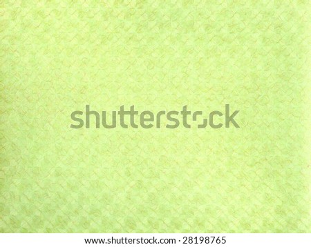 Organic lime colored vintage wallpaper - stock photo