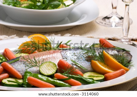how to keep cooked vegetables green