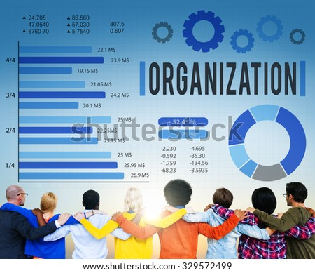 Organization Group Business Company Corporate Concept - stock photo