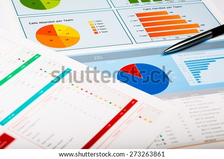 Organization, Planning, Finance. - stock photo