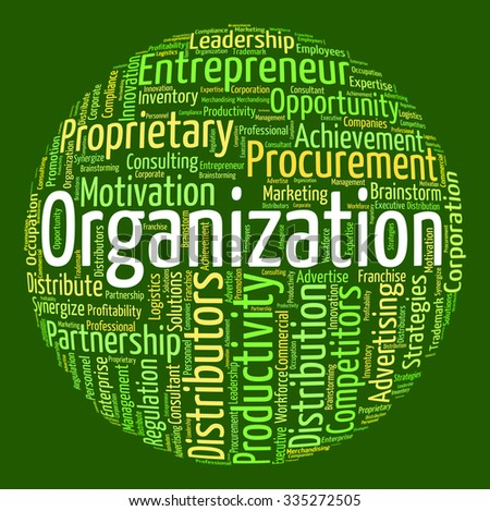 Organization Word Meaning Consortium Organizing And Words